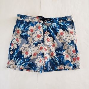 PENGUIN by Munsingwear Floral Board Shorts Size 32